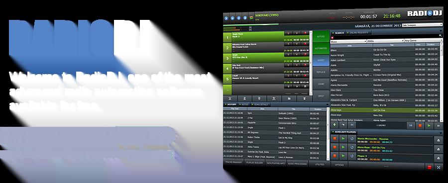 Aplikasi On Air RadioDJ, Free tapi fitur mantap !