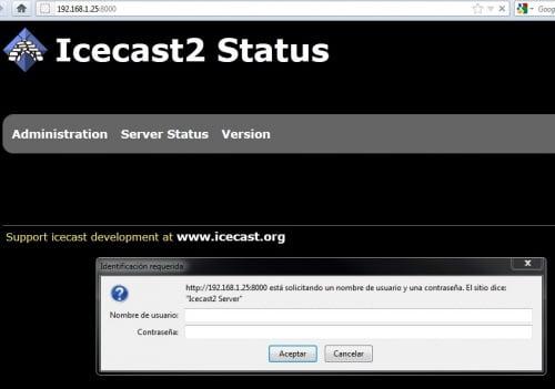 Cara install Icecast di ubuntu server