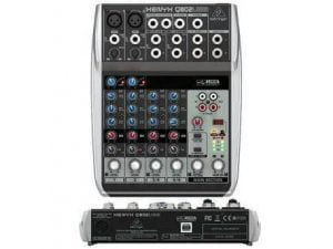 Mixer Behringer Xenyx Q802 With USB Audio Interface 1