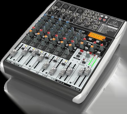 Mixer Behringer XENYX QX1204USB