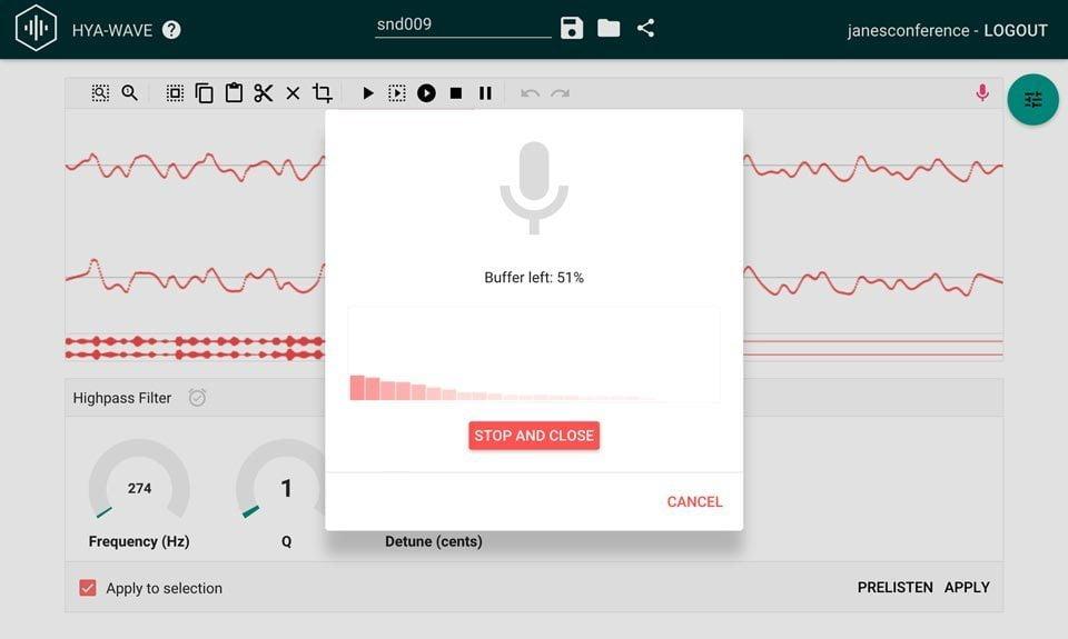 audio editor online hyawave