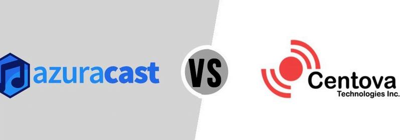 Azuracast vs Centovacast